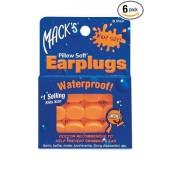 Mack's Pillow Soft Earplugs, Waterproof, kids, 6 paar in pak