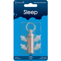 Crescendo Sleep Oordoppen 25 dB